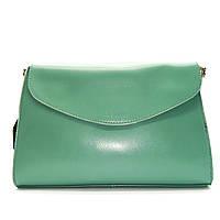 Женская сумка CELINE из натуральной кожи бирюзового цвета на цепочке FSS-002100, фото 1