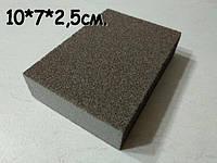Меламиновая Губка BLACK с Абразивным Покрытием 10*7*2,5см.