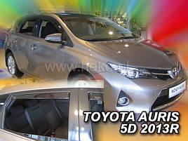Дефлекторы окон (ветровики)  Toyota Auris 2012-> 5D 4шт (Heko)