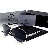 Очки мужские солнцезащитные Mercedes. Очки с логотипом Мерседес