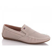 Кожаная обувь Мокасин лето