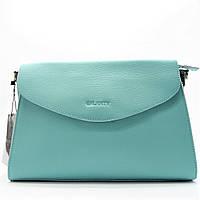 Женская сумка CELINE из натуральной кожи бирюзового цвета на цепочке FSW-002199, фото 1