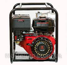 Мотопомпа бензиновая Weima WMQGZ100-30 (Двигатель 16 л.с.), фото 3