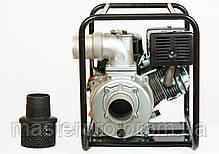 Мотопомпа бензиновая Weima WMQGZ100-30 (Двигатель 16 л.с.), фото 2