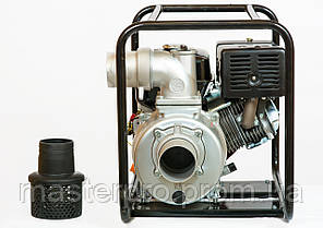 Мотопомпа бензиновая Weima WMQGZ100-30 (Двигатель 18 л.с.), фото 2
