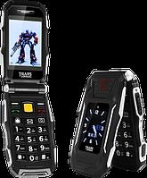 """Land Rover X10 Transformers, 4800 мАч, 2 SIM, большие кнопки, дисплей 2.8"""". Противоударный телефон-раскладушка, фото 1"""