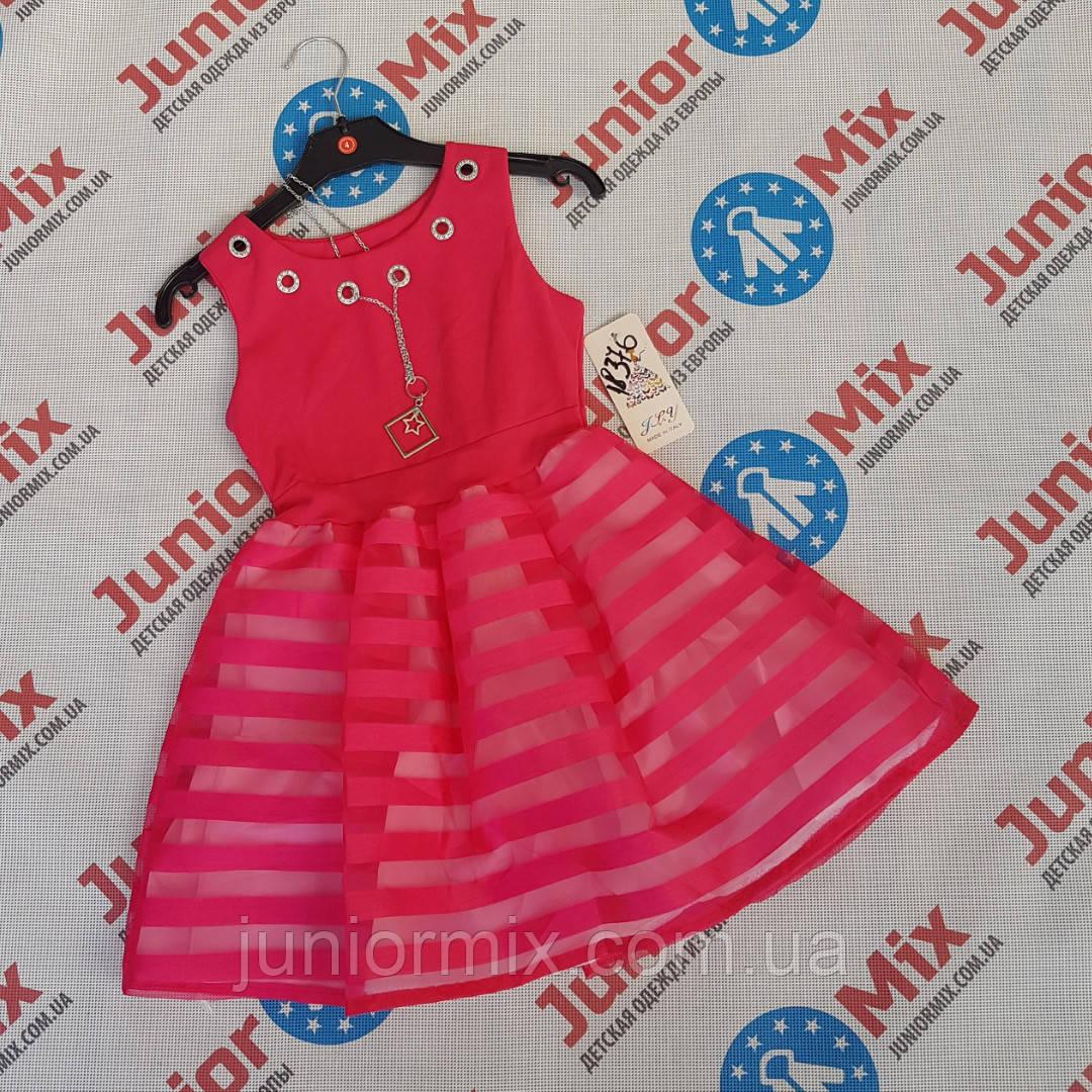 Нарядні дитячі сукні для дівчаток оптом ІТАЛІЯ