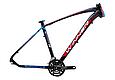 """Горный велосипед WINNER DRIVE 27,5"""" 17"""", 19""""Черный / Синий, фото 2"""