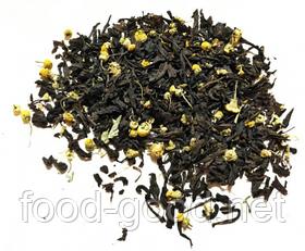 Чай черный с ромашкой, 100г.