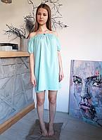 Легкое воздушное летнее платье - резинка, фото 1