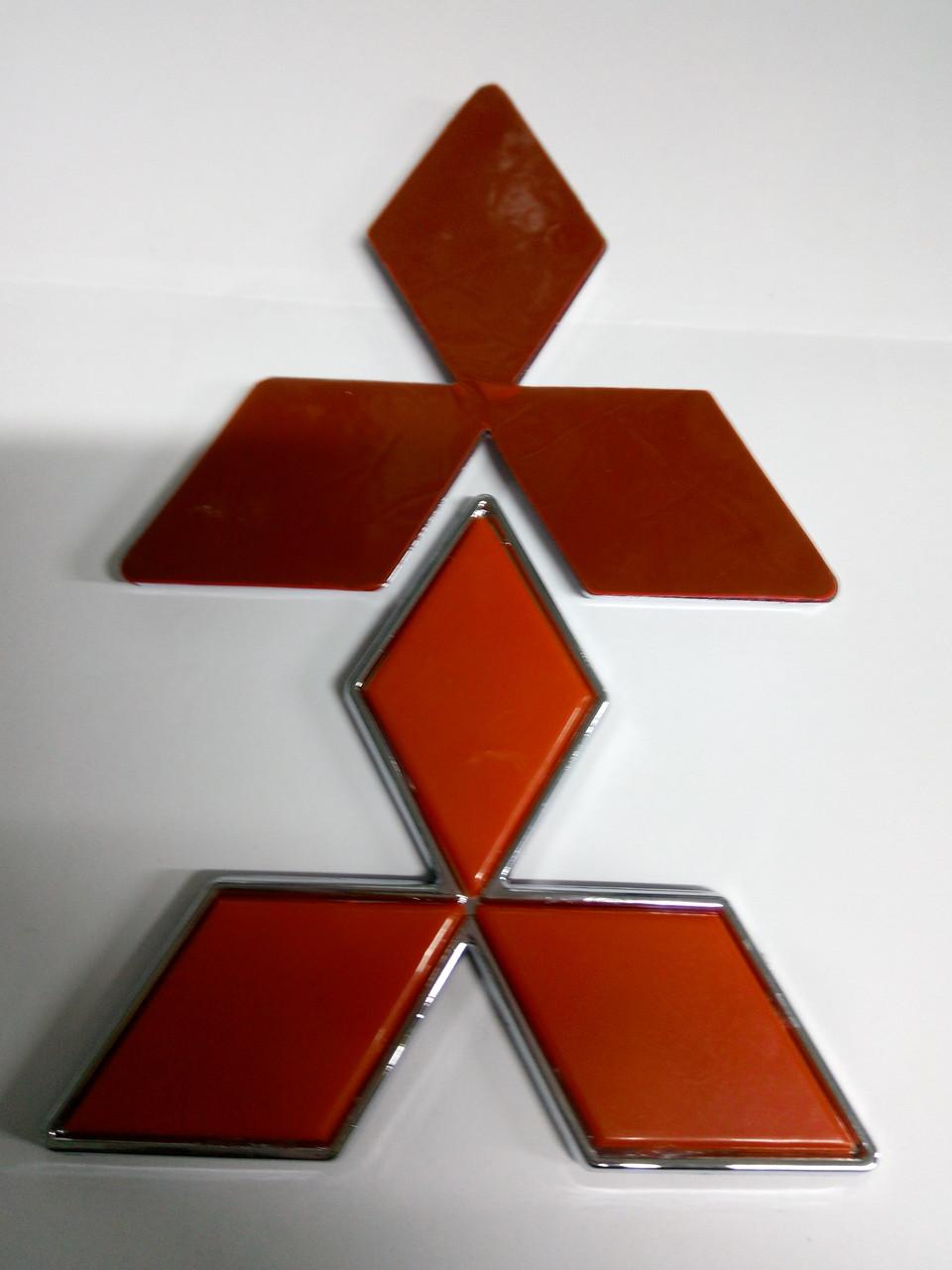 Эмблема MITSUBISHI  114х90 мм