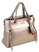 Женская сумка 2-04 8075  bronz.Женские сумки продажа недорого оптом и в розницу