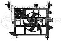 Вентилятор охлаждения Рено Дастер Renault Duster 1.5/1.6/2.0 (8200880554 / 214810820R)