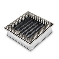 Ротанг серебряная 17x17 з жалюзи