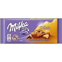 Шоколад Milka Collage (карамель, печенье и шоколадные капли) Швейцария 100г