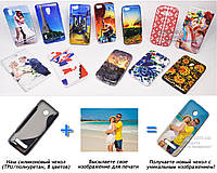 Печать на чехле для Nokia Asha 206 (Cиликон/TPU)