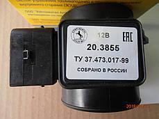 Датчик массового расхода воздуха ДМРВ 20.3855, фото 3