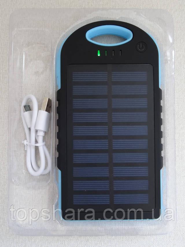 Зарядний пристрій с фонариком Solar Charge 45000mAh