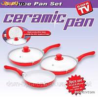 """Набор керамических сковород """"Ceramic pan"""" 3 шт."""