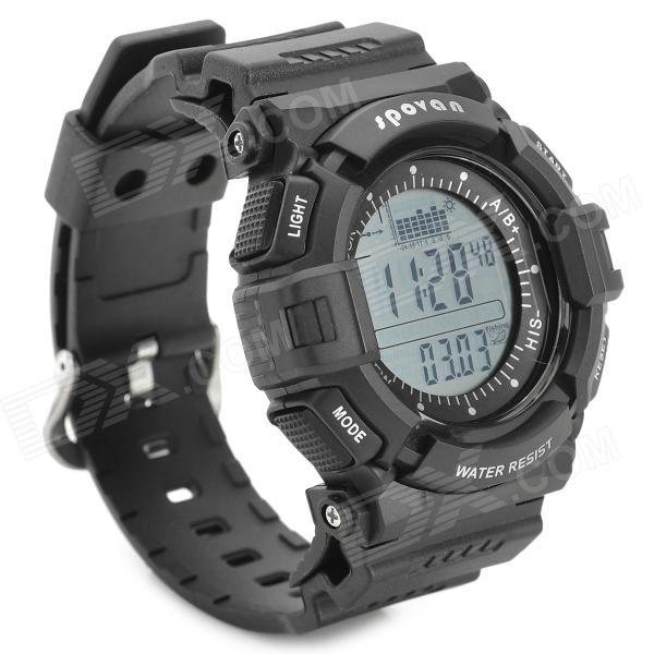 Часы рыболовные Spovan SPV706 A белый экран