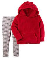 Комплект Carter's для девочки 2в1: 2-Piece Pullover & Legging Set (18 мес)