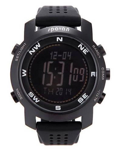 Часы рыболовные Spovan BRAVO II B черный экран