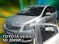 Дефлекторы окон (ветровики)  Toyota VERSO c 2009 -> 5D 4шт (Heko)