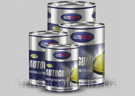 Универсальная резино-битумная мастика AUTOGUM Автотрейд 4,5кг