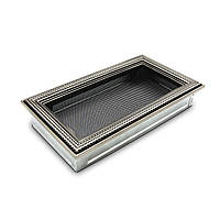 Ротанг серебряная 17x30