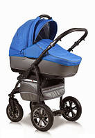 Детская универсальная коляска 2 в 1 Glory (Глори), Ajax Group, серый+синий (98/14)