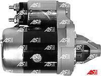 Стартер для Mazda 323 1.6 Turbo (бензин). 0.85 кВт. 8 зубьев. Новый, на Мазда 323 1,6 бензиновая.