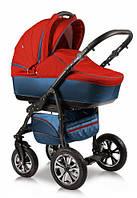 Детская универсальная коляска 2 в 1 Glory (Глори), Ajax Group, синий+красный (58/09)