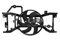 Вентилятор радиатора Логан Renault Logan 0.9/1.2/1.5/1.6 (12-) (LFK 0978) Luzar
