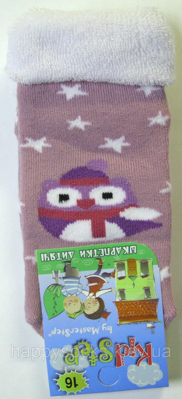 Носки новогодние теплые сиреневые