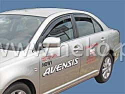 Дефлекторы окон (ветровики)  Toyota Avensis 2003-2009 Sedan 4шт (Heko)