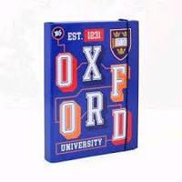 """Папка для тетрадей картонная YES 491508 В5 на резинке """"Oxford"""""""
