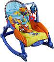Музыкальное кресло-качалка 7179 joy toy (3в1), фото 2