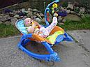 Музыкальное кресло-качалка 7179 joy toy (3в1), фото 3