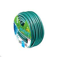 Поливочный шланг Метеор 1/2 50м зеленый 3 Bar рабочее давление