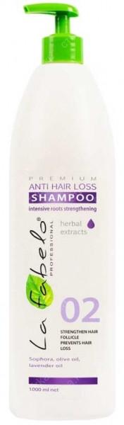 Профессиональный шампунь от выпадения волос  La Fabelo 1l