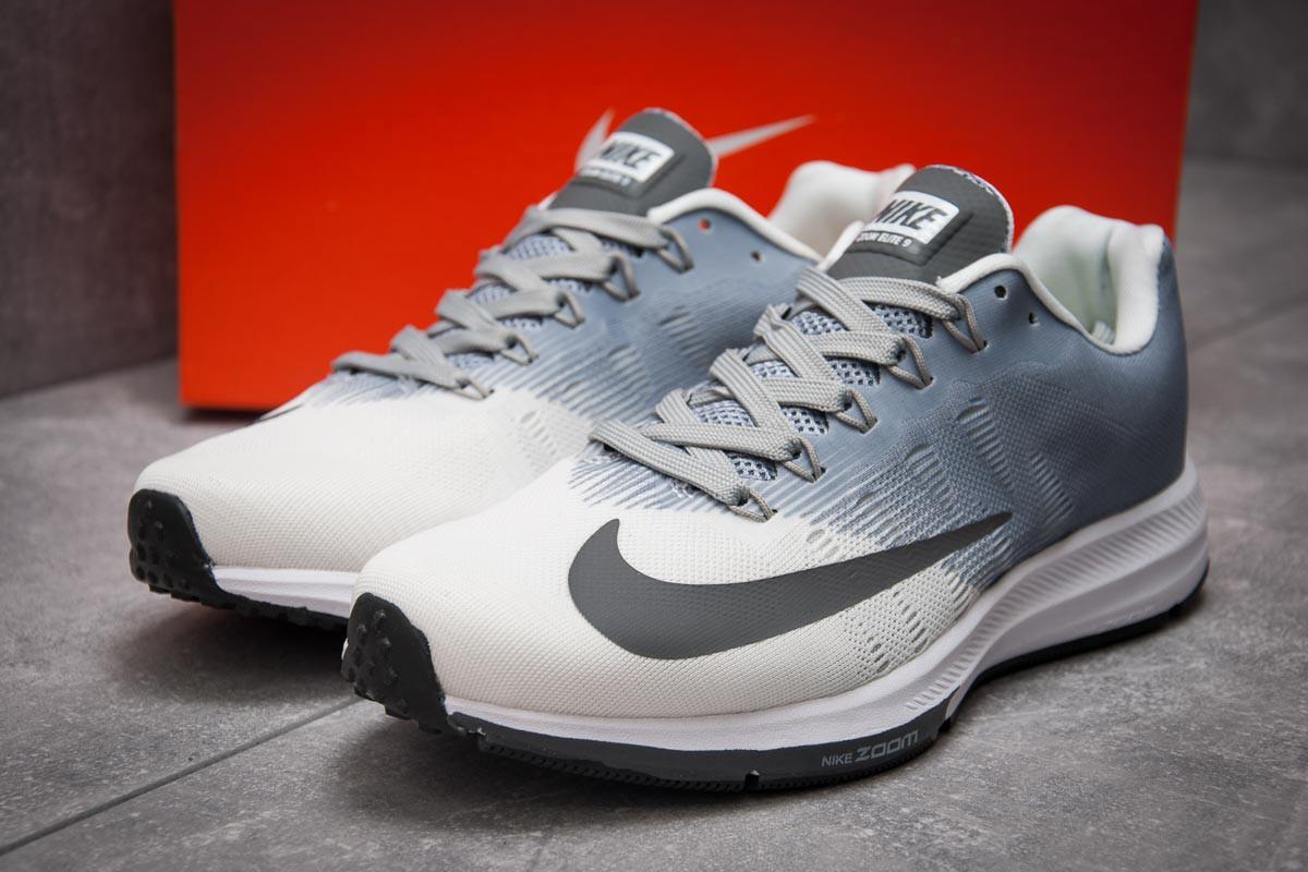 Кроссовки мужские в стиле Nike Zoom Elite 9, серые (12894),  [  44 45