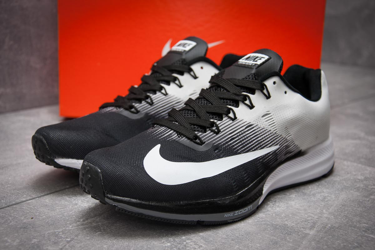 Кроссовки мужские в стиле Nike Zoom Elite 9, белые (12892),  [  41 42