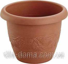 Горшок для цветов  Виноград, диаметр 19,5 см,5002