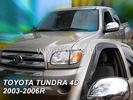 Дефлекторы окон (ветровики)  Toyota Tundra 2000-2006 (HEKO)
