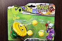 Растения против зомби | Plants vs Zombies Игровой набор №3 Подсолнух (Растения стреляют шариками , 40+видов)