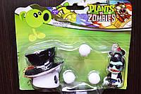 Растения против зомби   Plants vs Zombies Игровой набор №4 Белыий гриб (Растения стреляют шариками ,40+видов)