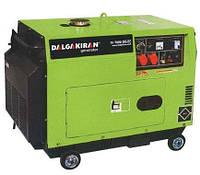 DJ 7000 DG-EС  Генератор дизельный GENPOWER-DALGAKIRAN 7,0 кВт