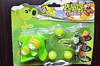 Растения против зомби   Plants vs Zombies Игровой набор №14 Горошек (Растения стреляют шариками в зомби)