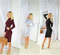 """Женское платье с ангоры """"Мелисса"""" 3 цвета, фото 1"""