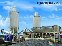 Мобильная бетоносмесительная установка «КАРБОН-38» Бетонный завод